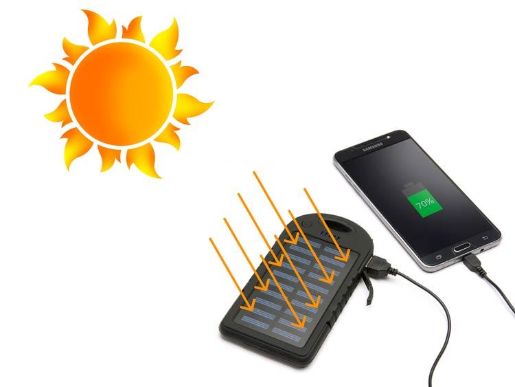 شارژر همراه خورشیدی